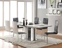 esszimmer set grau weiss wohnzimmer weis modern attraktive kombination wohn und