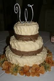 country chic wedding cakes country style 3 tier wedding cake
