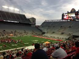 friday night lights ohio european soccer in ohio stadium in late july what about urban