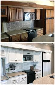how to apply valspar cabinet paint painting your rv kreating homes
