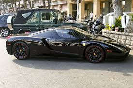 black enzo enzo black with black rims car yacht and more