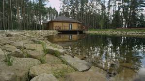 One Story Log Cabins Day Hold One Story House Wood Stone House Cabin Woodsy Area Wood