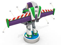 buzz lightyear toy story papercraft