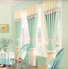 country cottage curtains sage green cotton fabric