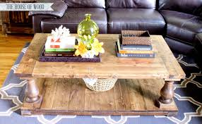 Baluster Coffee Table Ana White Balustrade Coffee Table Diy Projects