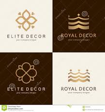 a collection of logos for interior furniture shops decor items