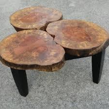 Stump Chair Furniture Diy Tree Stump Chairs Design With White Cushion Chairs
