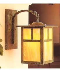 Lantern Style Outdoor Lighting by Arroyo Craftsman Mb 10 Mission 10 Inch Wide 1 Light Outdoor Wall