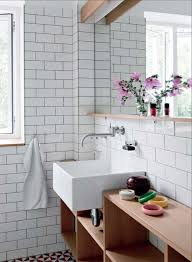 15 elegant bathroom designs that combine white and wood top