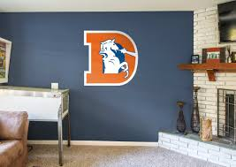 Denver Broncos Classic Logo Wall Decal