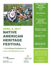 Radford University Map Upcoming Events Native American Heritage Festival Radford