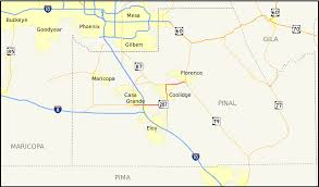 Arizona Maps by Arizona State Route 287 Wikipedia