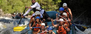 kennebec river rafting trips maine rafting adventures with three