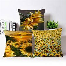 Sunflower Home Decor Sunflower Pillow Ebay