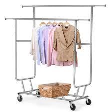 amazonsmile topeakmart clothing rack commercial grade rolling