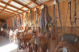 the tack room cherry wood about our horses