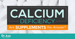 calcium deficiency are supplements the answer