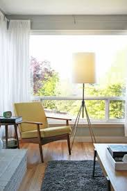 Mid Century Modern Living Room by Best 25 Midcentury Curtain Rods Ideas Only On Pinterest