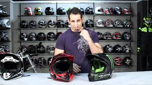 monster energy motocross helmets fox racing v4 helmet review at revzilla com youtube