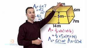 surface area of trapezoid youtube