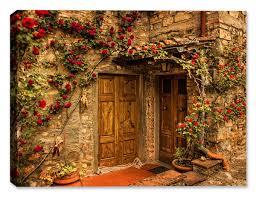 Tuscan Door Photograph Italy Photography by John Galbo Photographer Canvas Art Plus