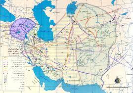 Persia Map Farsictionary English Persian Iranian History Glossary Ariana