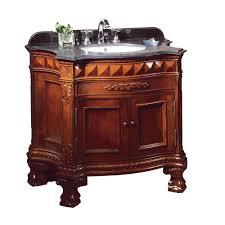 Ove Decors Bathroom Vanities Ove Decors Buckingham 36 In Vanity In Cherry With Granite