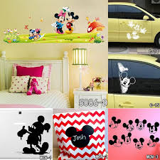 personalized name lovely cartoon mickey mouse sticker fashion