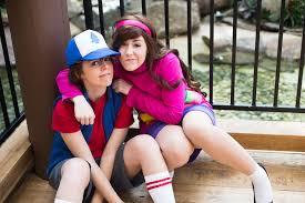Mabel Dipper Halloween Costumes Mystery Twins Gravity Falls Courtoonxiii Deviantart
