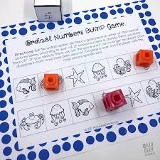 pattern practice games free ordinal numbers game for kindergarten first grade