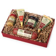 Cheese And Sausage Gift Baskets Hickory Farms Simply Sausage U0026 Cheese Duo Gift Box Hickory Farms
