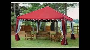 Patio Gazebos And Canopies by Canopies And Gazebos For Patio Youtube
