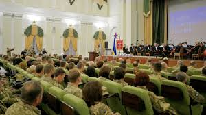 ministry of defence of ukraine hosts ceremonies on the of the