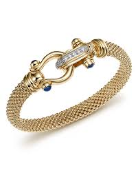 gold mesh bracelet images 14k yellow gold beaded mesh bracelet with diamond clasp 100 5,0&a