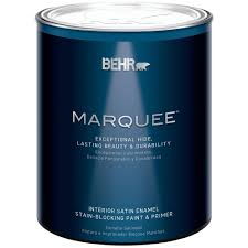 Home Depot Interior Paint Brands Behr Premium Plus Ultra 1 Qt Ultra Pure White Satin Enamel
