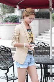 blazer feminino fashion women suit blazer turn back cuff jacket
