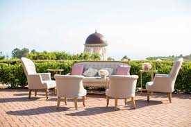 wedding furniture rental tufted furniture rentals give your wedding a glam look inside