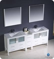 84 fresca torino fvn62 361236wh uns modern sink bathroom