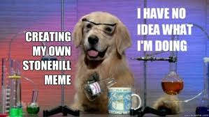 Create My Own Meme With My Own Picture - creating my own stonehill meme science dog quickmeme