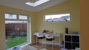added sunroom house extension dunfermline