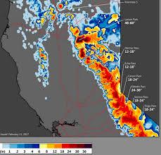 Virginia Beach Flood Map by Oroville Dam Latest Maps Of Dam Area Flood Risk Evacuation