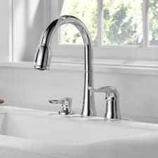 Faucet Kitchen Delta Kate Pull Single Handle Kitchen Faucet With