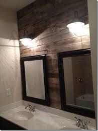 bathroom wall idea best 25 pallet wall bathroom ideas on pallet walls