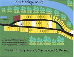 map ok ky rv cgrounds cummins ferry resort cground and marina cground maps