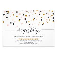 gifts registry wedding registry cards in invitations yourweek 70b710eca25e