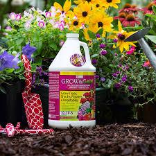 Garden Fertilizer Types - grow u0026 gain indoor outdoor plants liquid fertilizer