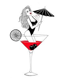 martini cup cartoon drowning in alcohol drowning alcohol drowninginalcohol
