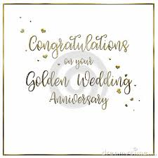 words for anniversary cards a simple uncomplicated white golden wedding anniversary card or