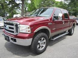 Ford Diesel Truck Used - 2006 ford f250 4x4 super duty crew cab lariat 4d diesel virginia