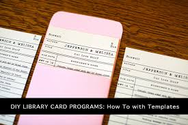 library cards and pockets library card templates ideas exle resume ideas